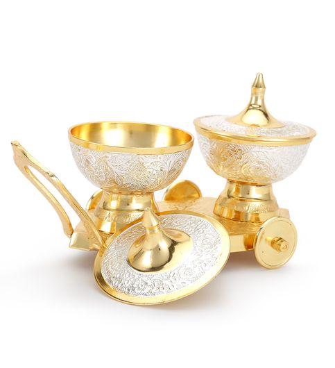 Carnival Elegant Brass Tray