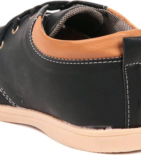 Sats Black Wland Style Shoes