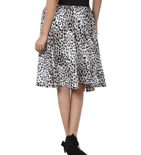 Shopingfever Printed Womens A-line Skirt sfsk603
