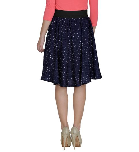 Shopingfever Printed Womens A-line Skirt sfsk612