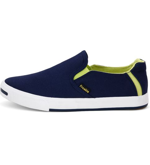 Froskie Vulcanised Canvas Casual ShoesFR-03-Blue