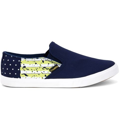 Froskie Vulcanised Canvas Casual ShoesFR-13-Dark-Blue