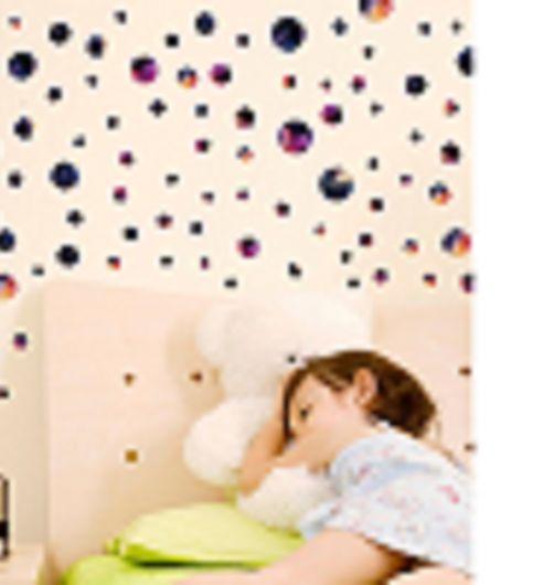 Jaamso Royals  Universe design Circle Wall Sticker PVC Vinyl 45 cm X 50 cmDecorative  Stickers