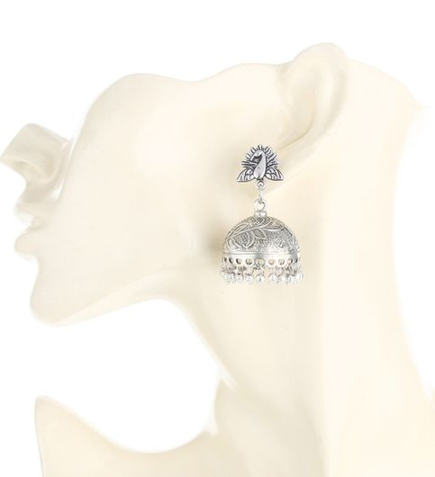 WATCH ME Banjara Boho pom Pom Trendy Fashionable Partywear Earrings Jhumki for Women Girls WMRPG-038