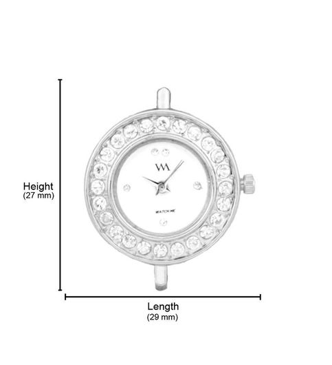 Watch Me White Women Metal Swiss Wrist Watch Watch Me-120-Sx