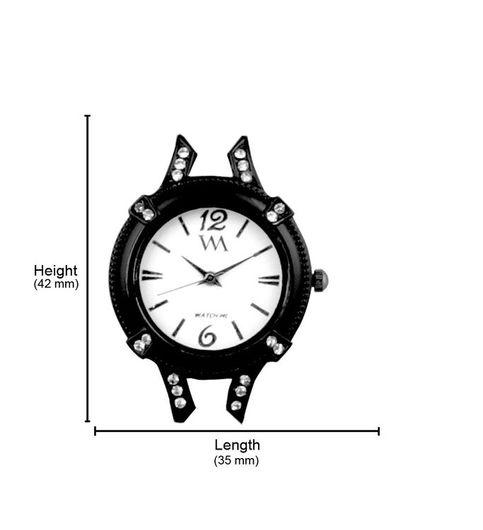 Watch Me White Women Metal Swiss Wrist Watch Watch Me-118x