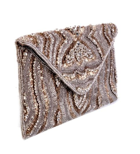 Diwaah Beautiful Embellished Envelop Clutch
