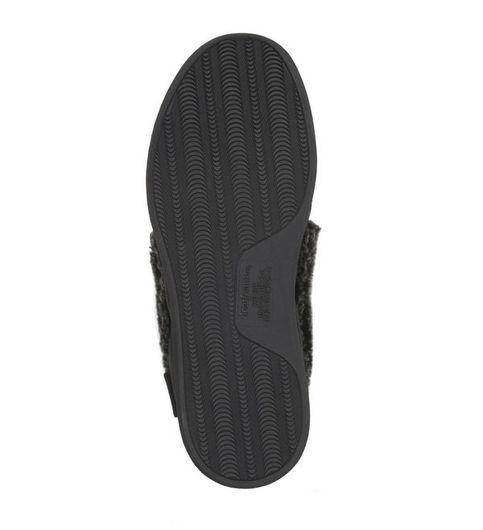 Feelinwow Microsuede Modern Moccasin Slipper Black