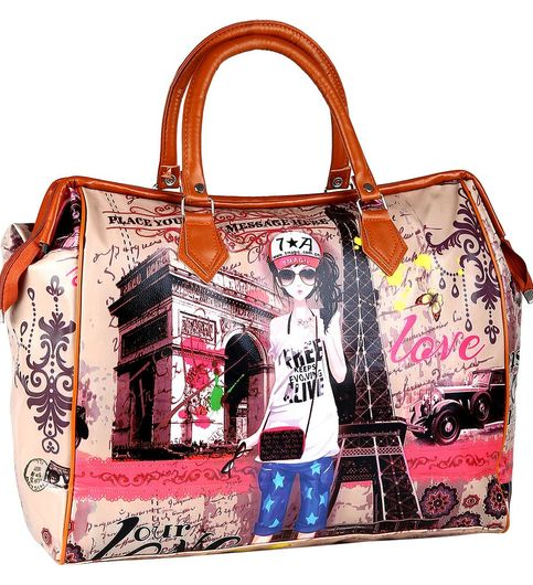 Tappo Printed Ladies Hand Bag