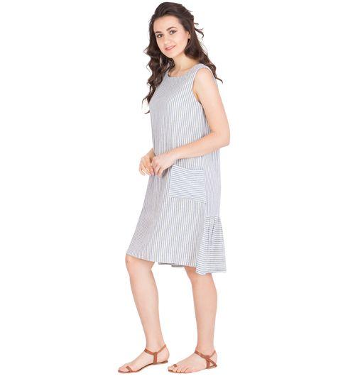 ANS Womens Striped Dress