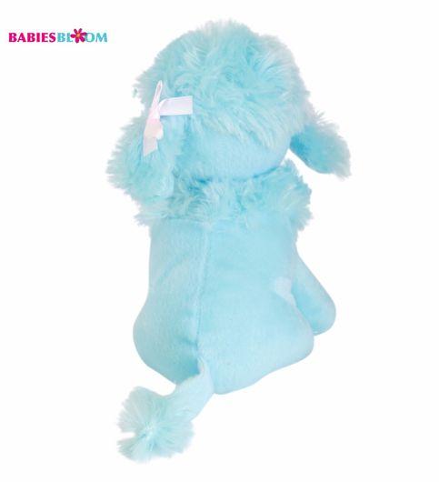 Babies Bloom Candy Blue Kawaii Poodle Dog Puppy Stuffed Plush Dog Toy
