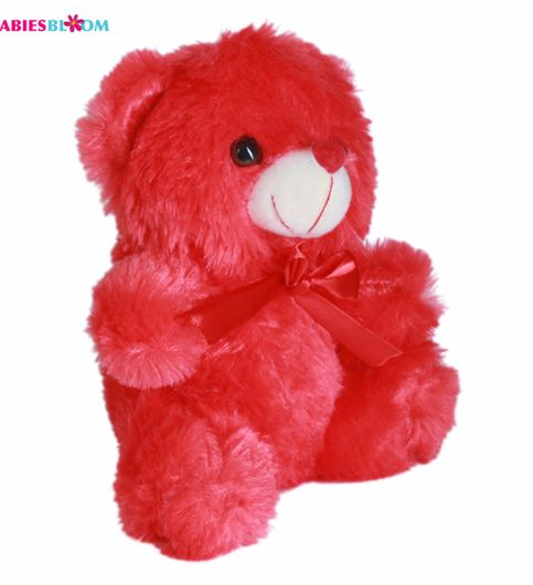 Babies Bloom Be My Valentine With A Red Ribbon Plush Stuffed Teddy Bear