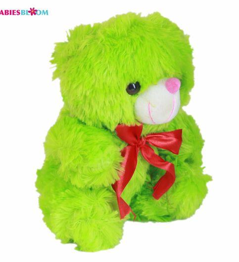 Babies Bloom Plush Stuffed Lovely Green Teddy Bear