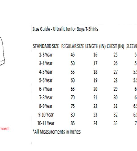 Ultrafit Junior Boys Cotton Grey T-Shirt