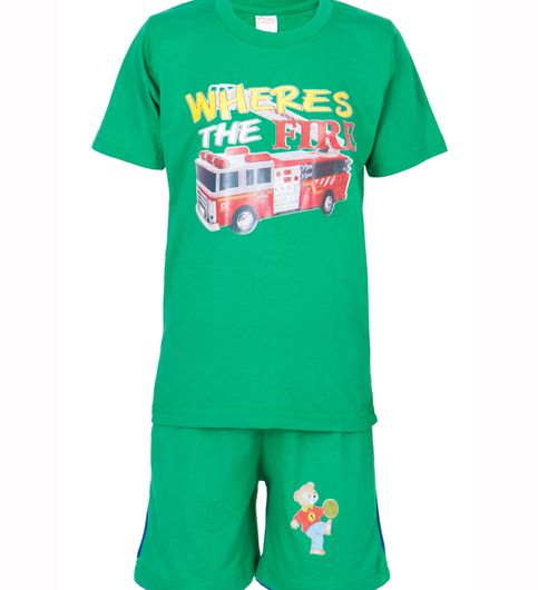 Ultrafit Junior Boys Cotton MultiColored Twin Sets- Pack of 3229