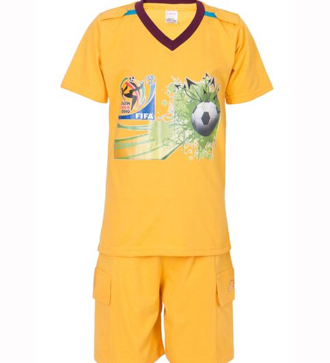 Ultrafit Junior Boys Cotton MultiColored Twin Sets- Pack of 2221