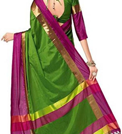 Art Silk Saree For Women With Good Colour Combination