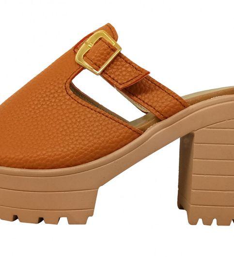 Block Heel Slippers