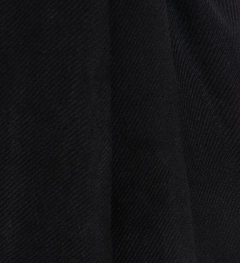 Muumuu Solid Black Viscose Womens Stole