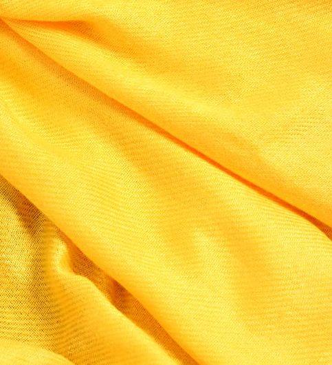 Muumuu Solid Yellow Viscose Womens Stole