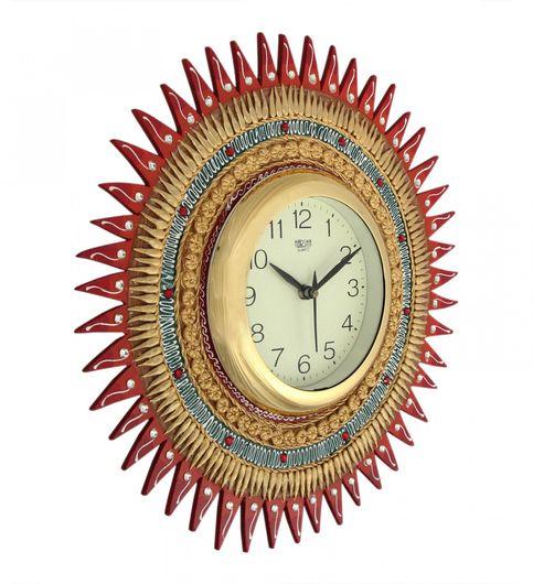 Craftszilla Hand Crafted Sun Wall Clock