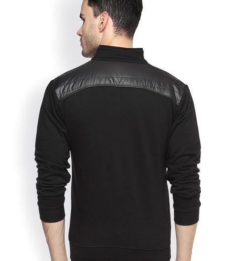 OPG Zed Black Cotton Jacket For Men