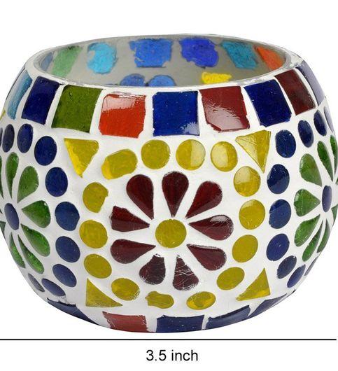 Home Decorative Votive Tea Light Candle Holder set of 2