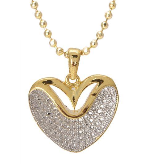 M4U Fashion Heart Shape Chain Pendant