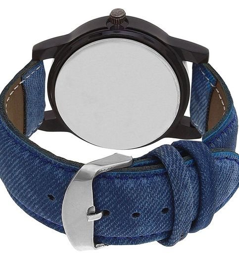 Klassy Collection Positive Thought Blue Strap Analog Watch - For Men