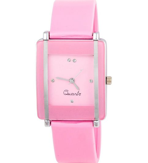 Klassy Collection Designer Leather Analog Watch For Couple