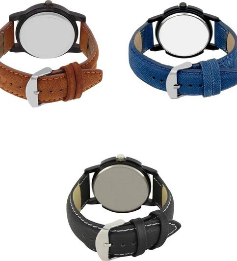 Klassy Collection Fast Selling Boys Nd Man Watches Combo Of - 3 Watch - For Men