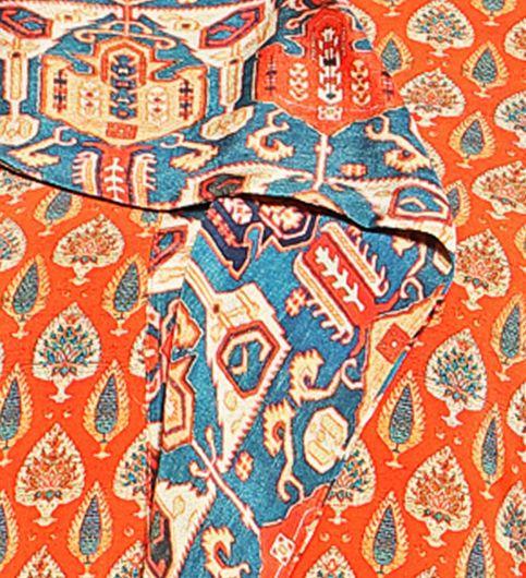Admyrin Orange Crepe Digital Printed Kurta With Palazzo