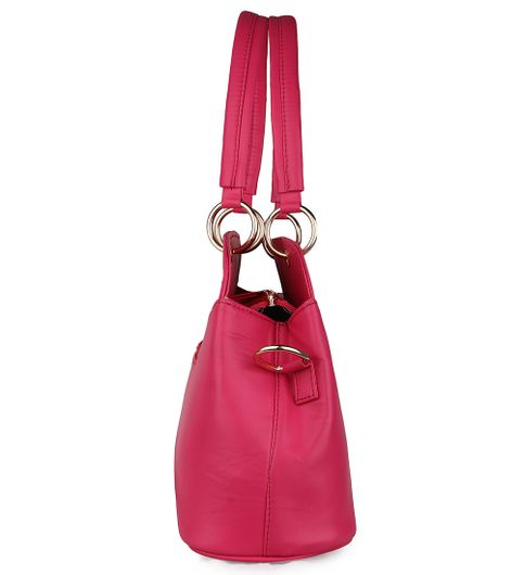 Goldmine Designer Sling Bag For Girls and Womens Pink Party Ware