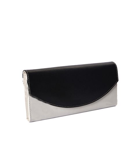 Goldmine Designer Handbag and Clutch Combo For Girls and Womens Multi Party Ware