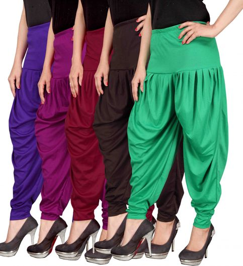 Culture the Dignity Womens Lycra Dhoti CTD00VP1MB2G1VIOLETPURPLEMAROONBROWNGREENFREESIZE