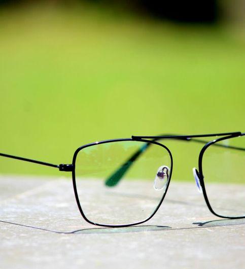 Fancy white Sunglasses black frame combo offer