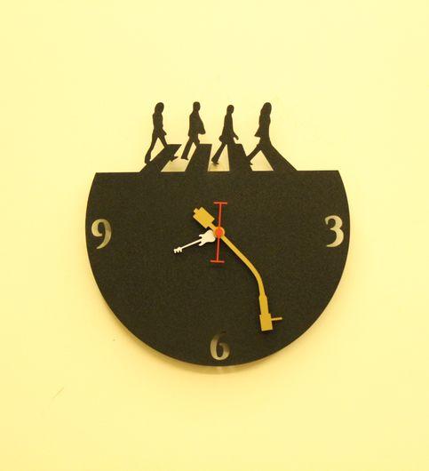 Wall Light Come Wall Clock - Beatles