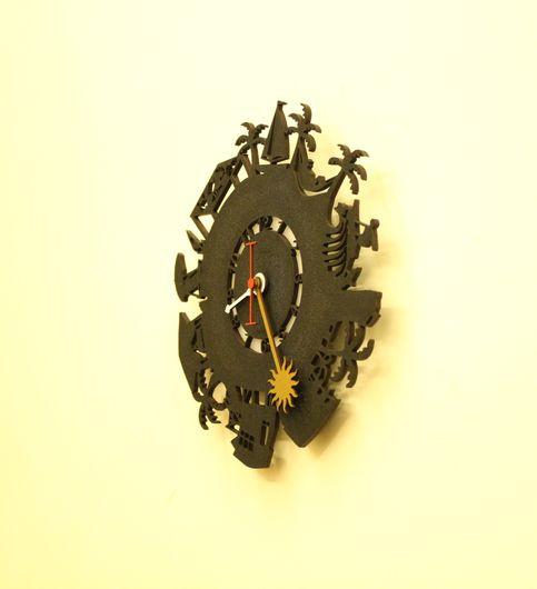 Wall Light Come Wall Clock - Beachlife