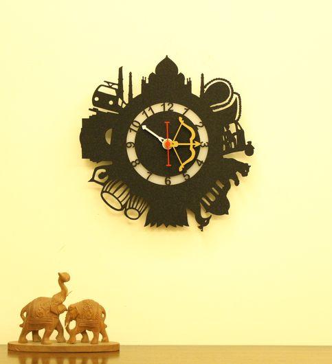 Wall Light Come Wall Clock - India