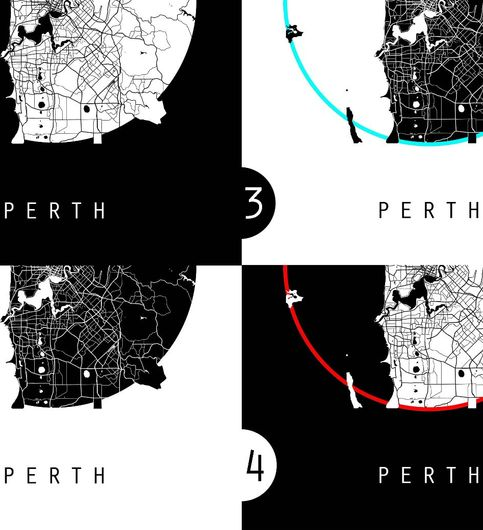 Buy perth map australia map world map maps at lowest price perth map australia map world map maps poster paintings wall poster minimal design perfect gift teachers gumiabroncs Gallery