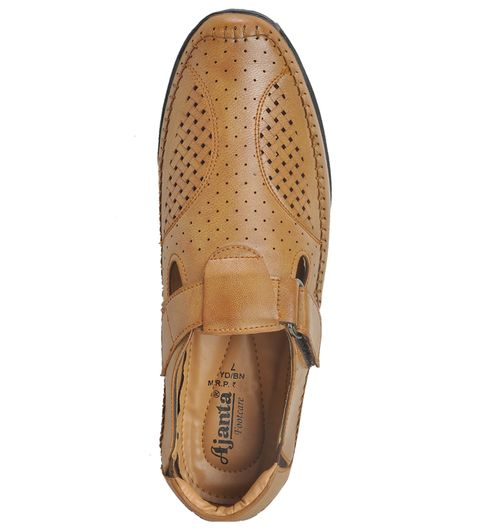 Ajanta Men s Casual Shoes - Tan