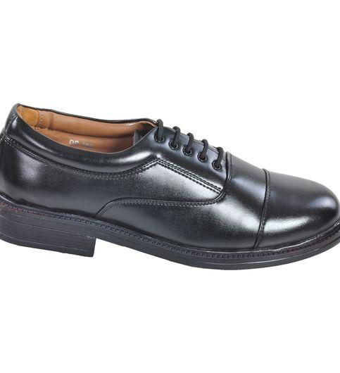 Ajanta Men s Formal Oxford Shoes - Black