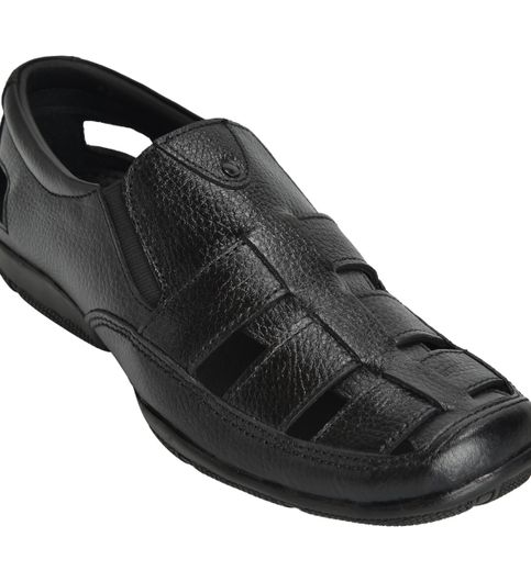 Casual Office Sandals - Black