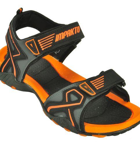 Impakto Men s Classy Sandal Slipper - Orange