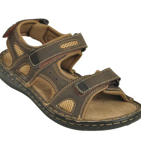 Impakto Men s Classy Sandal Slipper - Brown Beige