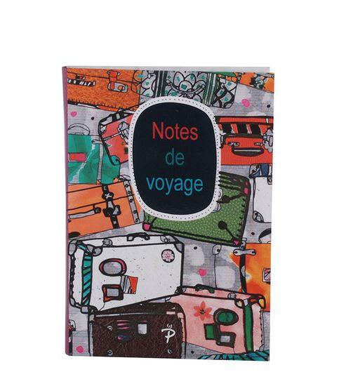 Pinaken Notes De Voyage Multicolor Luxury Flexible Paper Cover Notebook 7x5