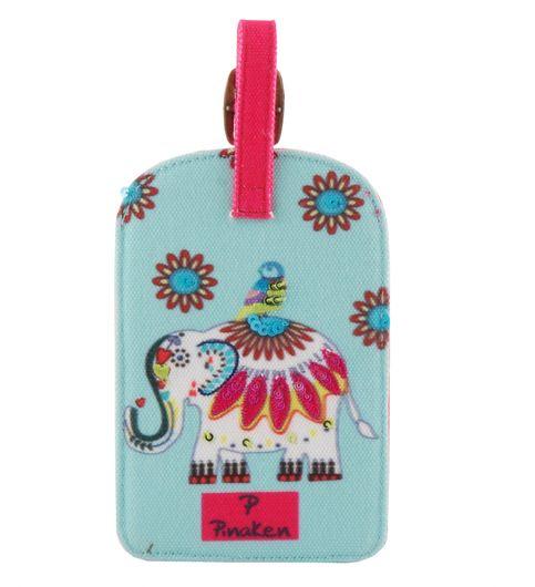 Pinaken Jumb Trunk Multicolor Luggage Tag