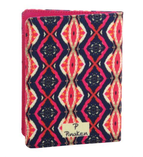 Pinaken Shimmering Nights Multicolor Passport Holder