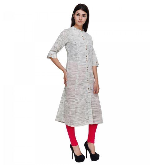 Swadeshi Khadi Long Kurti