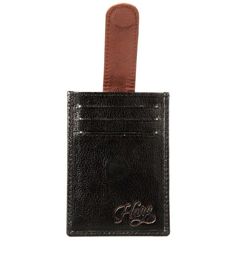 Harp Harp black Color Leather Material Wallets